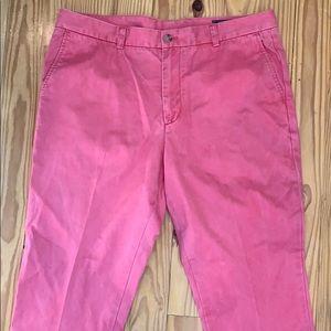 Vineyard Vines Pink Pants 36x30